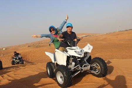 Dubai dị thường giữa mùa hè bỏng rát…