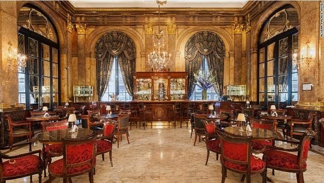 Không gian tuyệt vời của quán bar Red2One, W Santiago (Santiago, Chile)