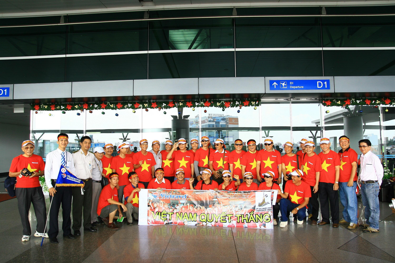 """Cùng Vietravel """"tiếp lửa"""" cuồng nhiệt cho đội tuyển Việt Nam tại Sea Games 28"""
