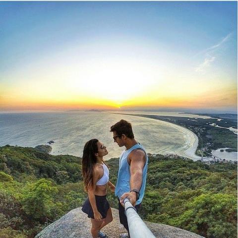 Tình yêu như thăng hoa hơn khi đặt trong bối cảnh tựa thiên đường như thế này
