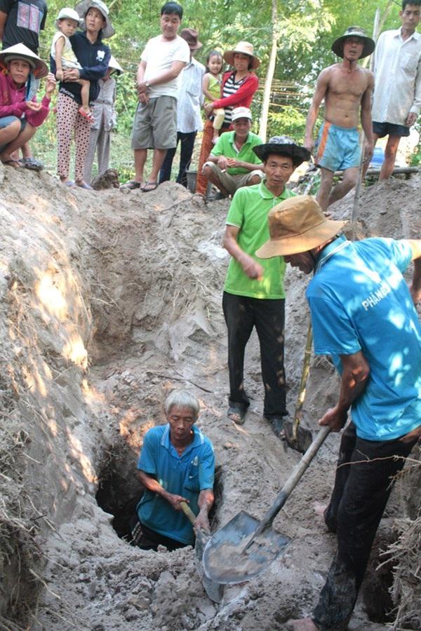Địa đạo Bình Túy được đào trên đất cát.