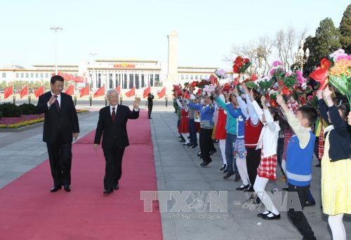 Củng cố tin cậy, thúc đẩy hợp tác cùng có lợi giữa Việt Nam và Trung Quốc