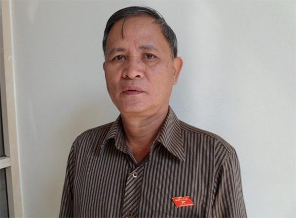 Đại biểu Phạm Trường Dân.