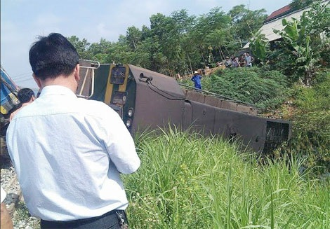 Hiện trường vụ tai nạn giao thông (Ảnh: Báo Công an Nhân dân)