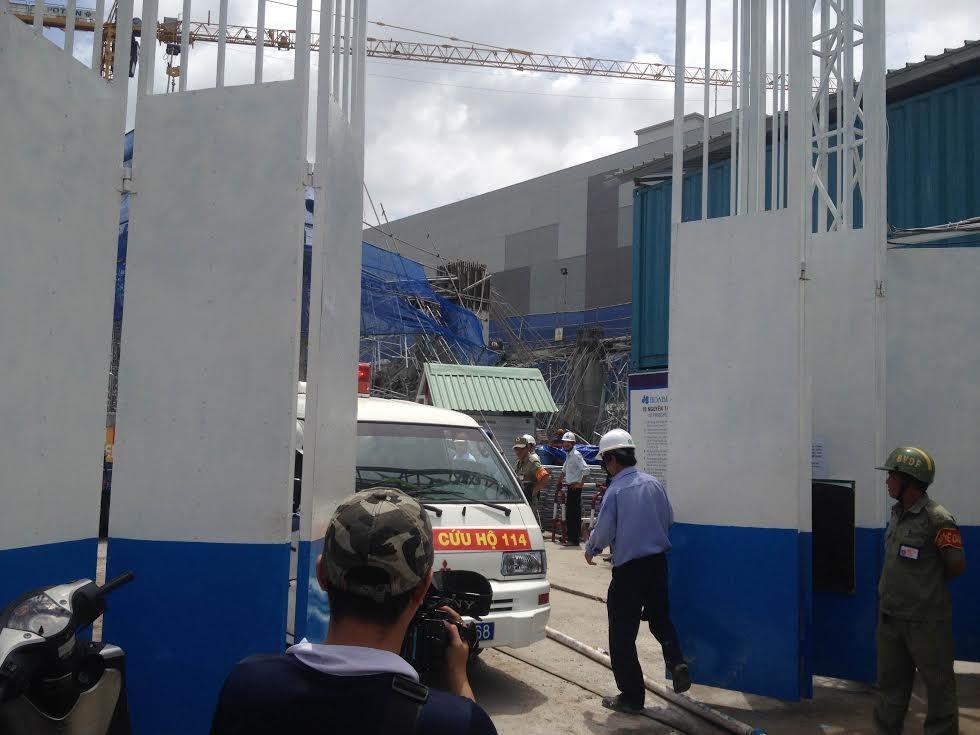 Công tác cứu hộ đang được tiến hành khẩn trương