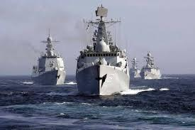 Các tàu chiến của Nga.