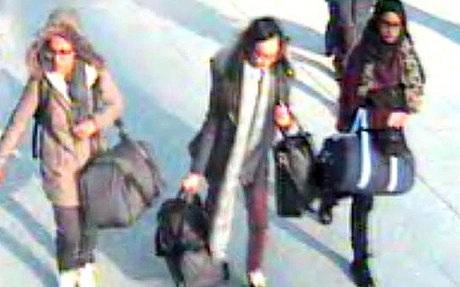 Ba nữ sinh Anh có thể đã tới Syria theo tiếng gọi của IS
