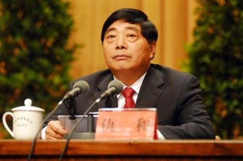 Cựu Phó Bí thư Tỉnh ủy Vân Nam Cừu Hòa trước khi bị sờ gáy (Ảnh: