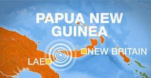 Động đất thường xảy ra ở Papua New Guinea do nước này nằm trên Vành đai lửa Thái Bình Dương (Ảnh: