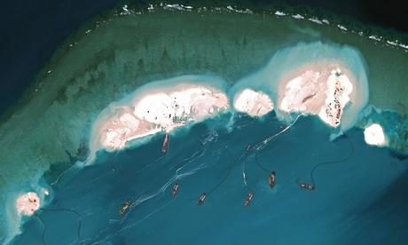 Úc quan ngại mạnh mẽ về hoạt động xây đảo của Bắc Kinh