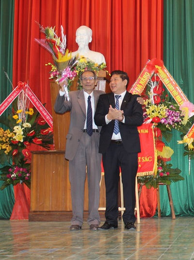 PGS.TS Nguyễn Mạnh Hòa - Hiệu trưởng ĐH Kinh tế Đà Nẵng (