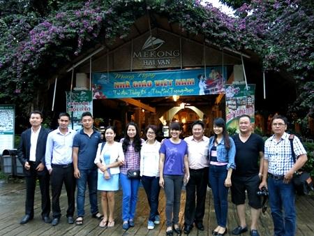 Đoàn Presstrip trải nghiệm tiềm năng du lịch Huế xuất phát từ trạm Hải Vân - Đà Nẵng