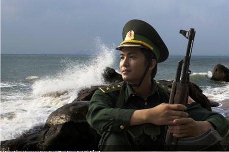 Giải Khuyến khích: Hướng về biển đảo - Phan Ngọc Hợi