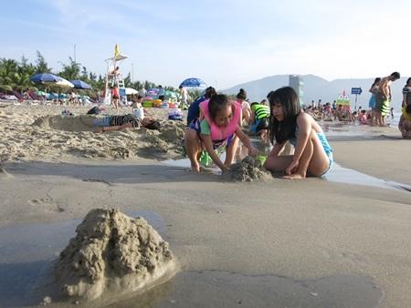 Thành phố biển Đà Nẵng của Việt Nam được lòng du khách (ảnh: Khánh Hiền)