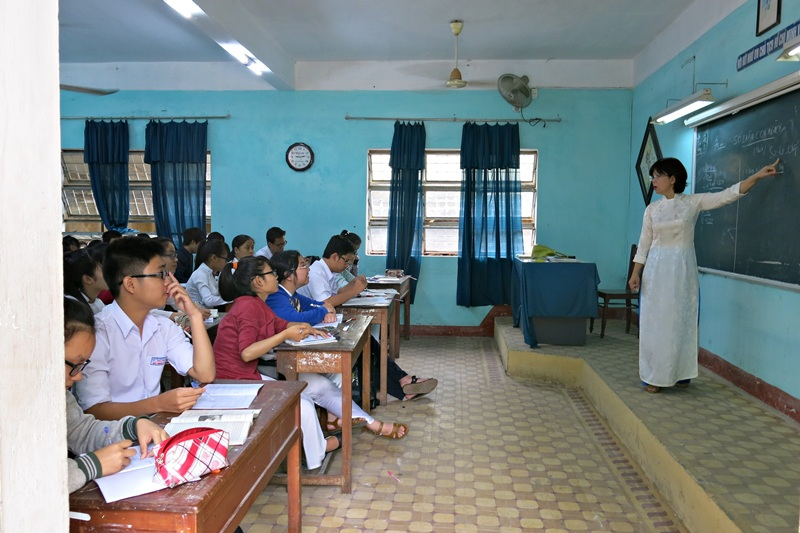 Học sinh các khối lớp 12 tại Đà Nẵng đã tăng cường ôn tập chuẩn bị cho kỳ thi THPT quốc gia.