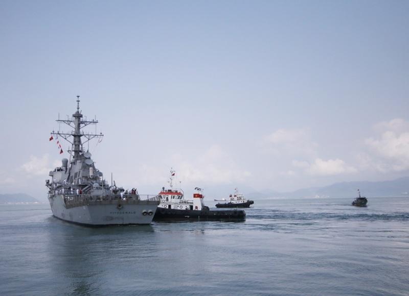 Hải quân Việt Nam - Hoa Kỳ cùng huấn luyện về quy tắc ứng xử trên biển