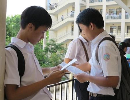 Học sinh thi vào lớp 10 năm học 2014-2015 tại Đà Nẵng