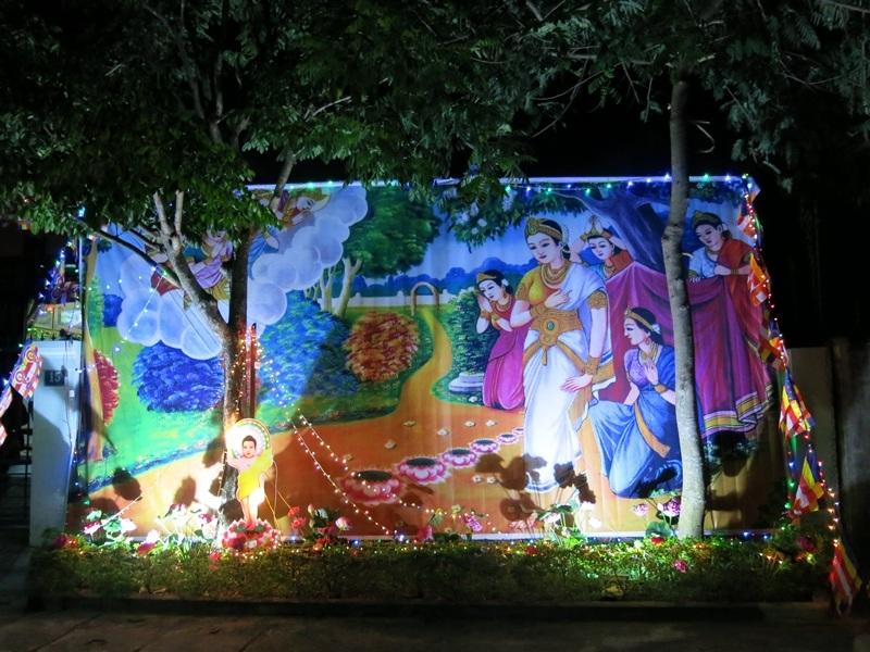 Nhà Phật tử ở Hội An trang hoàng mùa Đại lễ Phật Đản