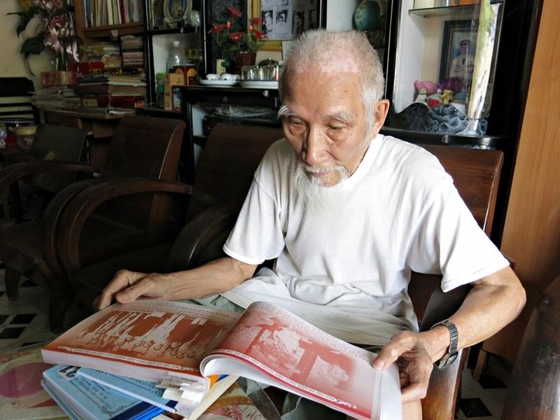 """Những điều Bác viết giản dị, dễ hiểu mà sâu sắc, nhân văn lắm"""" - cụ Nguyễn Dần nói về Bác Hồ."""