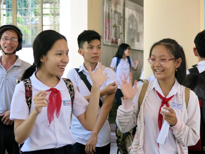 Thí sinh thi vào lớp 10 tại Đà Nẵng