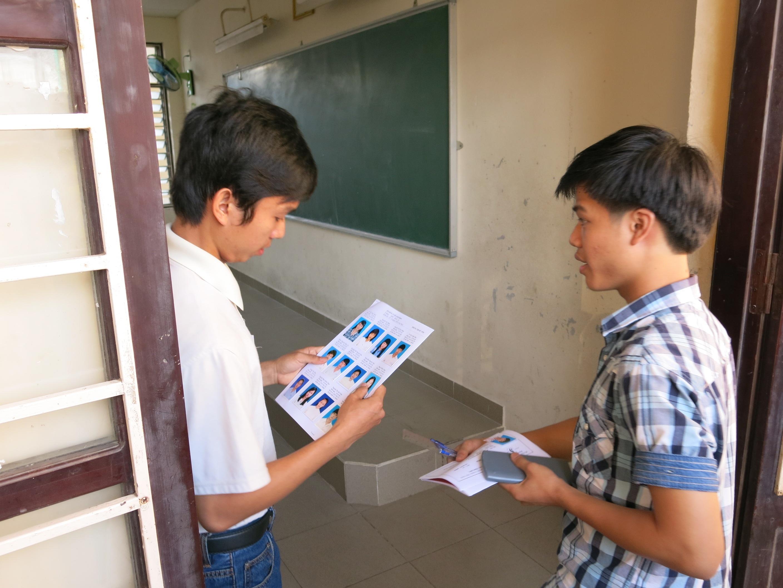 Thí sinh được điều chỉnh sai sót thông tin đăng ký dự thi cho tới ngày làm thủ tục thi.