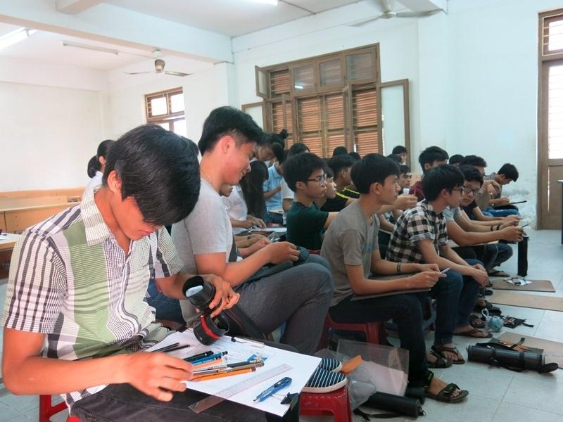Hơn 1.00 thí sinh dăng ký thi Vẽ, Năng khiếu vào ĐH Đà Nẵng