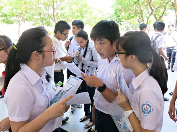 Thí sinh thi vào lớp 10 năm học 2015- 2016 tại Đà Nẵng