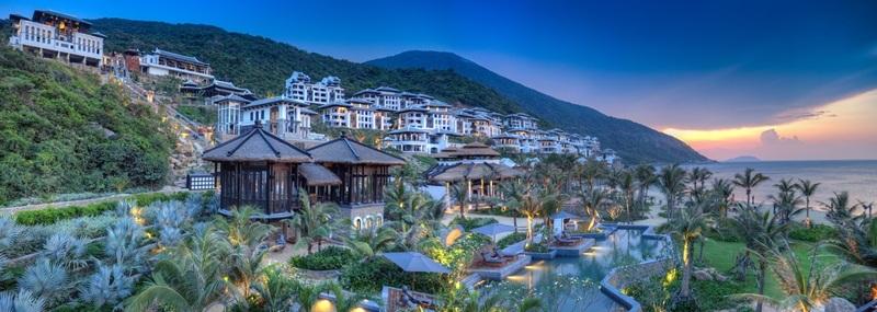 Khu nghỉ dưỡng InterContinetal Danang Sun Peninsula ở bán đảo Sơn Trà, Đà Nẵng