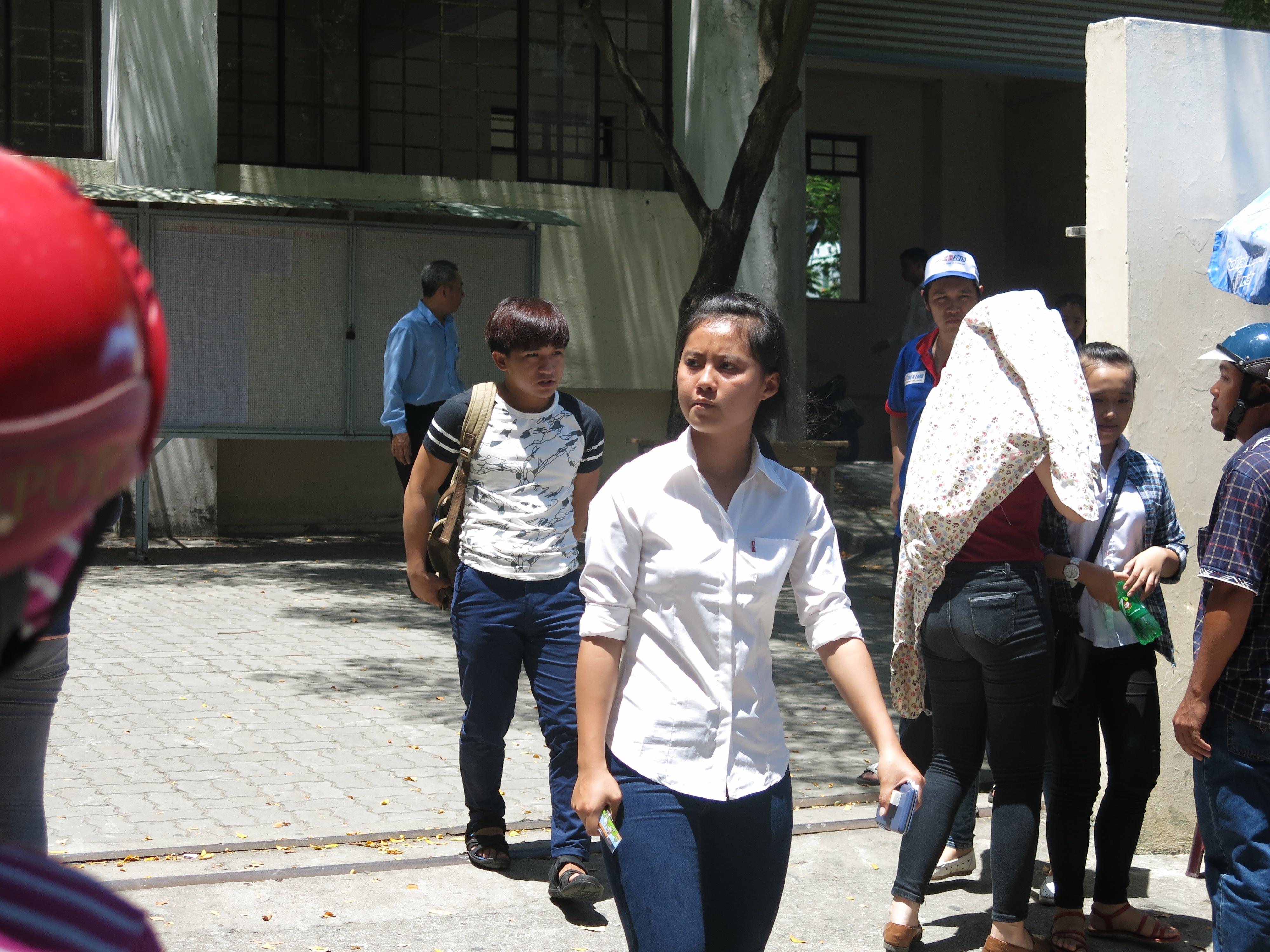 Thí sinh tại Đà Nẵng nhận xét đề Hoá rất khó có điểm tuyệt đối
