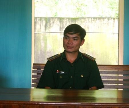 Anh lính biên phòng người dân tộc Chứt- Hồ Văn Kiều