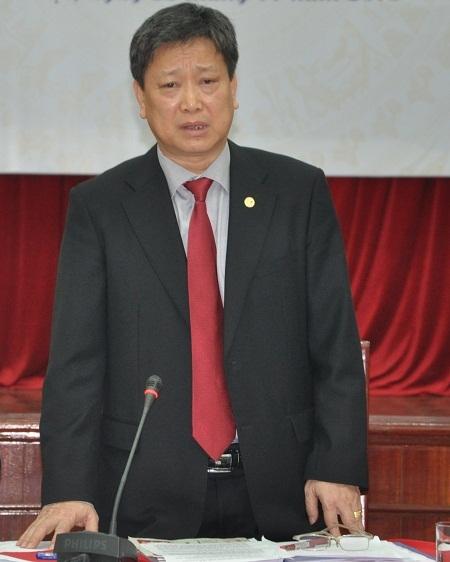 Ông Hồ Anh Tuấn - Thứ trưởng Bộ Văn hóa, Thể thao - Du lịch chủ trì hội thảo.