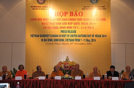 Cuộc họp báo chiều ngày 24/11 có 60 đại biểu trong nước và 13 đại biểu nước ngoài.