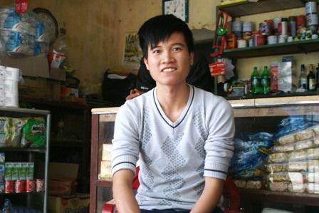 Em Lê Khắc Đạt, người chụp bức ảnh trên.