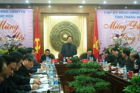 Thủ tướng yêu cầu Thanh Hóa cần quan tâm đến công tác đảm bảo an sinh xã hội