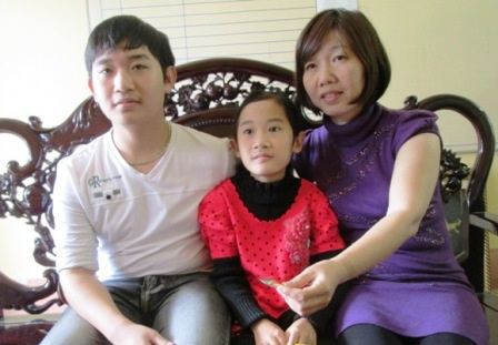 Gia đình cũng là yếu tố quan trọng để Huy Dũng có được thành công như ngày hôm nay.