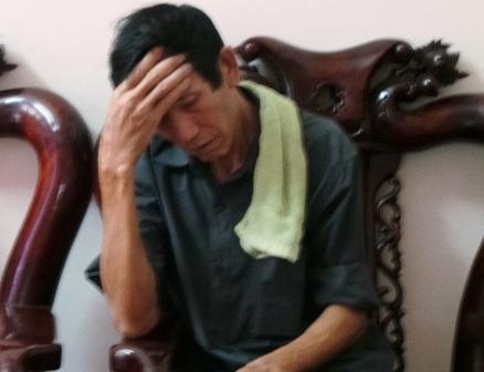 Ông Vũ Văn Bình đau đớn trước sự ra đi củ 2 người con gái.