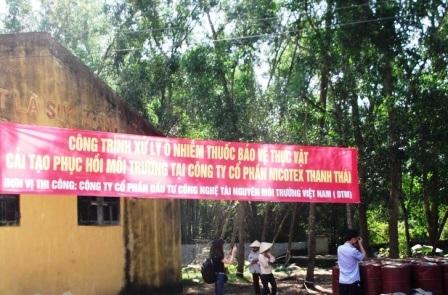26 ngày để khai quật hiện trường Cty Thanh Thái.
