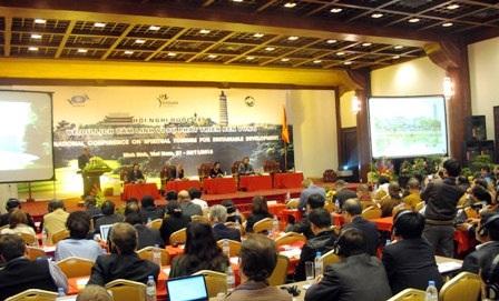 """Khai mạc Hội nghị Quốc tế """"Du lịch tâm linh vì sự phát triển bền vững""""."""