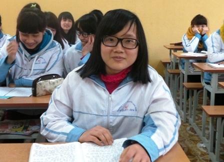 Hoàn cảnh gia đình khó khăn, nhưng Hòa luôn có nghị lực vươn lên trong học tập.