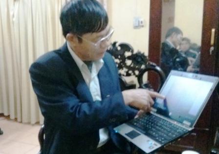 Bác sỹ Nguyễn Văn Anh, Giám đốc trung tâm pháp y tỉnh Hà Nam.