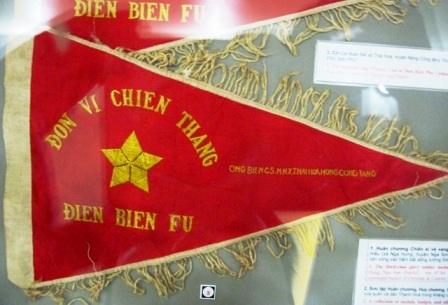 Cờ hiệu tặng thưởng cho đơn vị có những đóng góp cho chiến dịch.