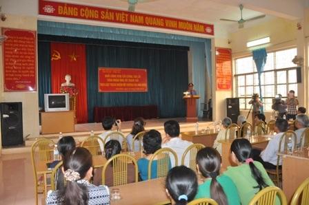 Đại diện Viện KSND tỉnh Bà Rịa - Vũng Tàu lên công khai xin lỗi người thân của ông Hải.