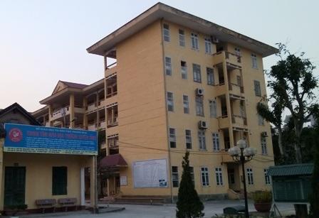 TTGDTX tỉnh Thanh Hóa - nơi xảy ra vụ việc 40 học viên nộp tiền chống trượt