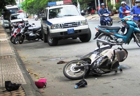 Hiện trường vụ án mạng khiến 2 người thiệt mạng
