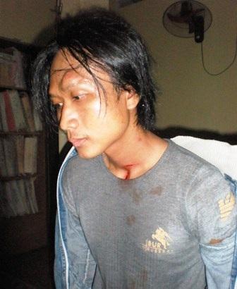 Cao Quốc Huy bị bắt tại cơ quan điều tra