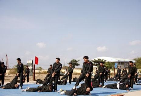Huấn luyện theo đội hình tác chiến