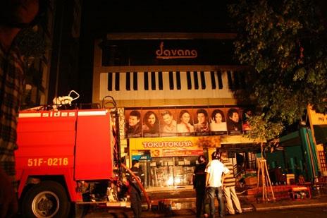 Rất may vụ cháy không gây hậu quả nghiêm trọng