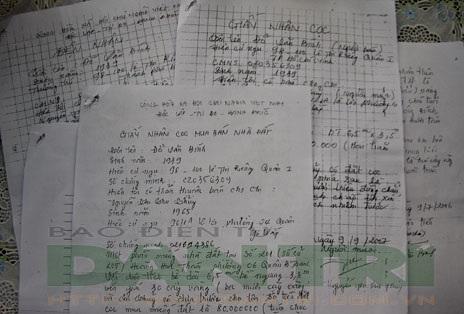 """Mua bán nhà đất bằng giấy viết tay rất dễ sập bẫy """"cò đất"""""""
