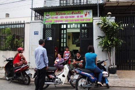 Vụ cướp xe máy xảy ran gay giữa khu dân cư đông đúc