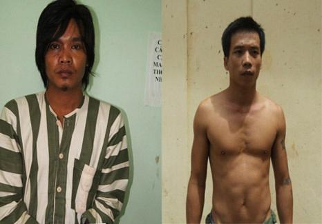 Hai tên khác cùng Phong dùng súng thực hiện các vụ cướp sa lưới